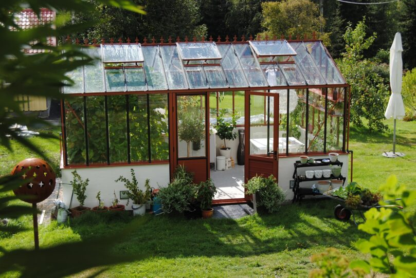 Ät säkert med ett växthus